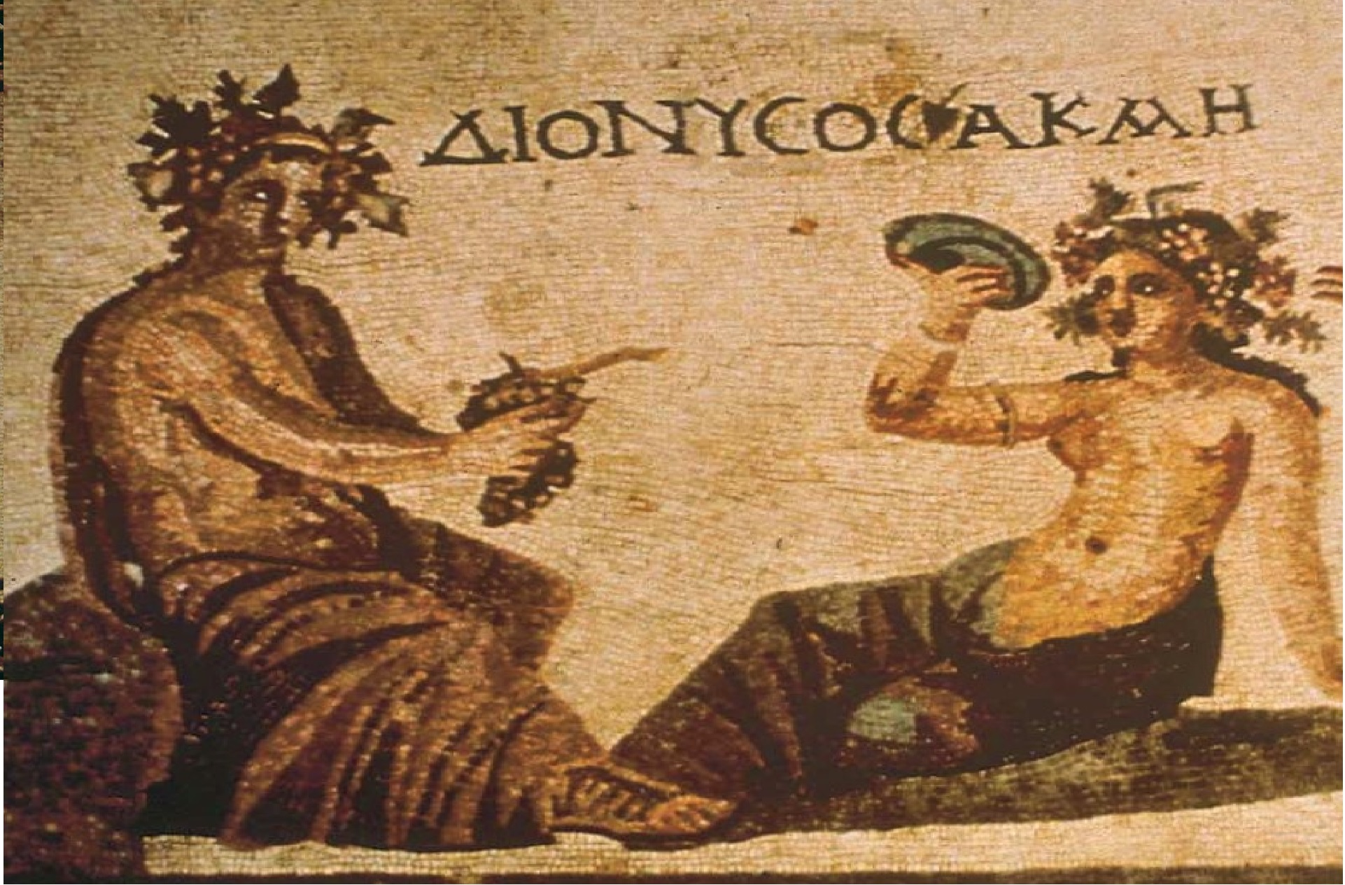 IN THE ROOTS OF WINE- Ancient Greek history, mythology & art EDUCULTURE